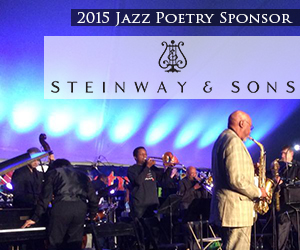 Steinway and Sons is a 2015 Jazz Poetry sponsor