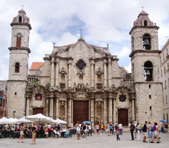 Catedral de San Cristóbal en Havana