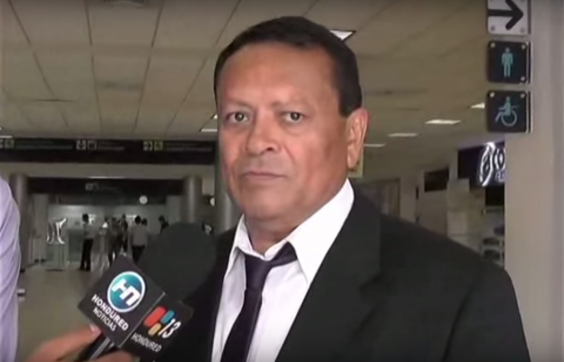 Persecuted Honduran journalist Julio Ernesto Alvarado. Image via Youtube user: HONDURED 13.