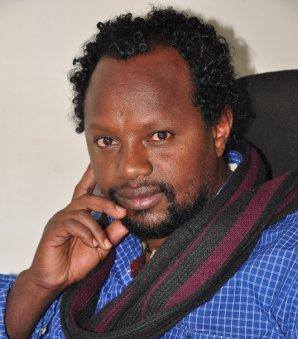 Editor and journalist Temesgen Desalegn. Image via Facebook.