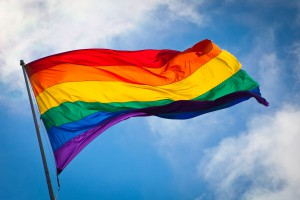 Un símbolo de la comunidad LGBTIQA. Image via Wikipedia
