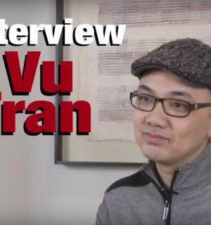 Writer Vu Tran at City of Asylum.