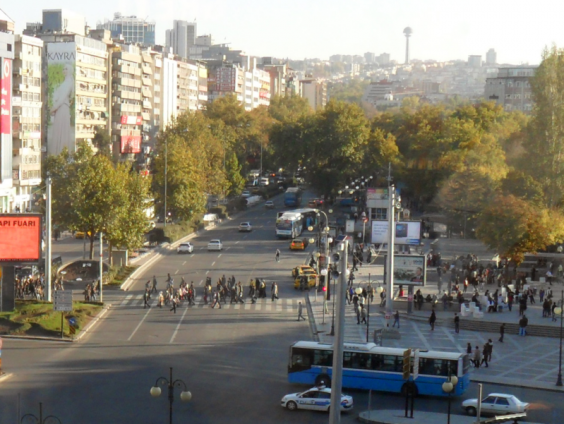 Site of the bombings in Ankara on March 13, 2016. Image via: Wikimedia Commons.