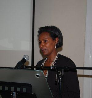 Tsedale Lemma, editor in chief of Addis Standard. Image via Flickr user: IPSS-Addis Ababa.