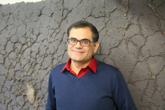 Pakistani author and journalist Raza Rumi. Image by City of Asylum. Rights reserved.