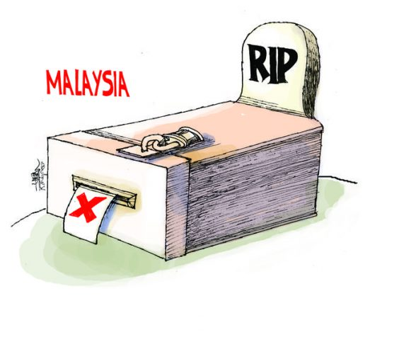 Cartoon-Election-in-Malaysia