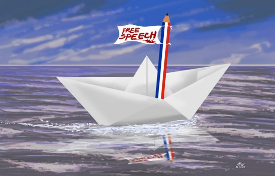 Fragile Boat of Free Speech