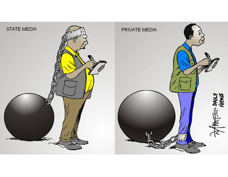 State Media vs. Private Media