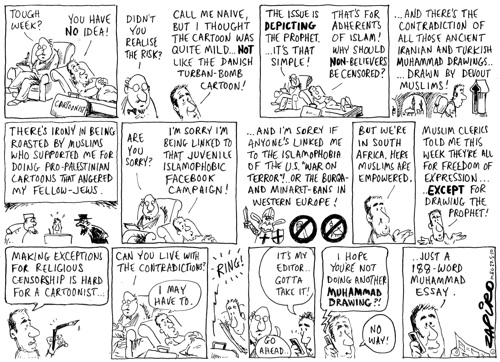 Zapiro and the Therapist
