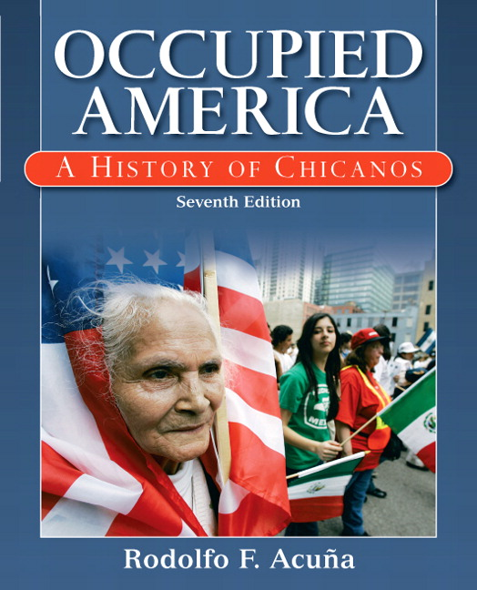 """Occupied America: A History of Chicanos"" by Rodolfo Acuña"