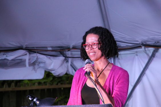 Poet Evie Shockley. Image by City of Asylum. Rights reserved.