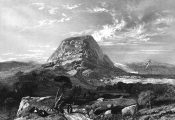 Mount Tabor. Image via: Wikimedia Commons.