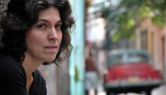 Cuban American writer Achy Obejas.